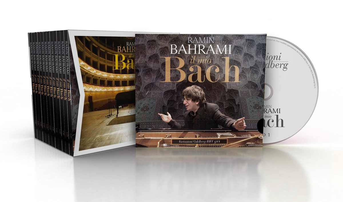 RAMIN BAHRAMI - IL MIO BACH